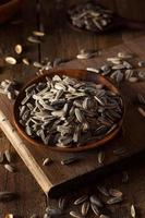 Organic Salted and Roasted Sunflower Seeds photo
