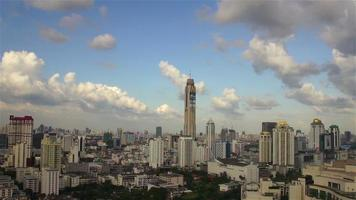 Panoramic view of urban landscape, Bangkok, Thailand
