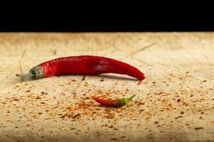 Little red hot pepper photo