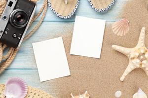 molduras e itens para fotos de viagens e férias