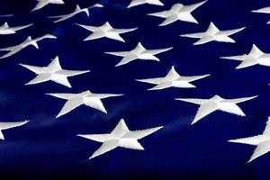 star American national flag closeup photo