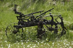 Farm machinery. photo