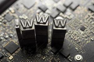 Internet www. website design & .com icon