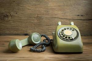 Old telephone photo