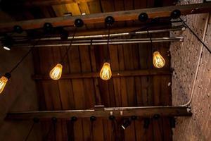 The electric light bulb Retro