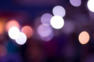 Bokeh background, abstract