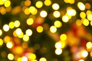 Shimmering blur christmas background