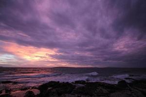 pinky sky photo
