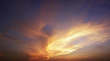 céu deslumbrante