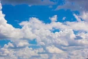 nube del cielo