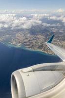Genoa from sky photo