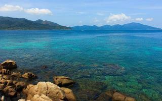 Blue sea and sky photo