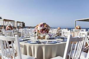 impressive wedding set up