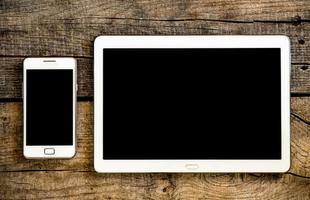 teléfono móvil y tablet pc foto
