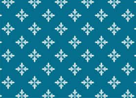 Blue and White Elegant Fabric Pattern vector