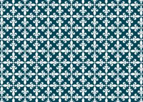 patrón de tela vintage vector