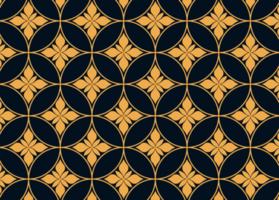 Golden Floral Pattern vector
