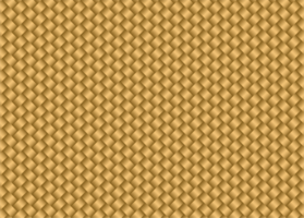 textura de estera de bambú dorado vector