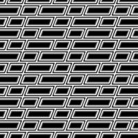 Black and white rectangle pattern  vector