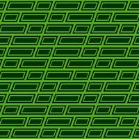 Green Rectangle Pattern  vector