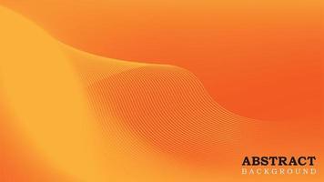 Yellow and Orange Gradient Mesh Background vector