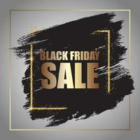 Grunge black Friday sale poster
