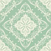 Decorative seamless tile pattern vector