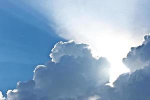 nubes cielo foto