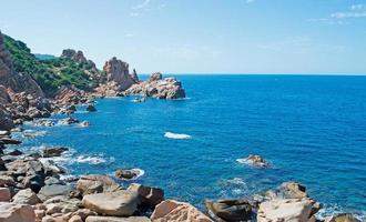 blue sky in Costa Paradiso