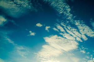 sky and cloud in blue sky  background photo