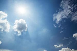 Sky and sun photo