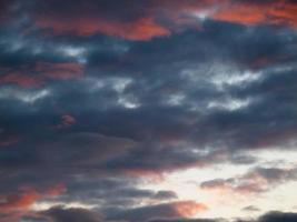 sky after a storm photo