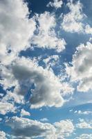 cielo con nubes foto