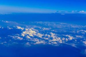 View on sky above clouds photo