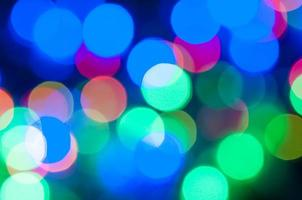bokeh background of christmaslight