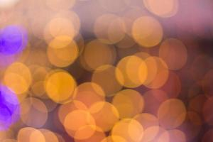 Abstract colorful bokeh background form light