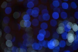 blue color of bokeh background