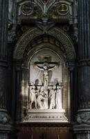 Religions statue, Fourviere Basilica in Lyon, France photo