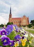 iglesia católica de la santísima trinidad, gervyaty, bielorrusia