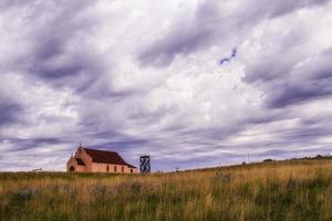 Church on prairie