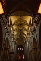 hallways of Saint Franois  in Lausanne Switzerland