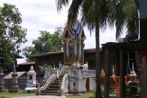 Mausoleum in Laos
