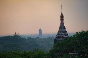 Temple in Bagan , Myanmar photo