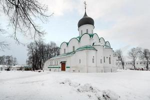 City Alexandrov, Vladimir region. Monastery Alexander Sloboda.