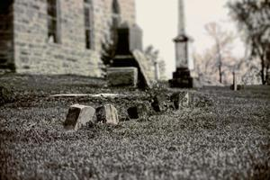 Old Tombstone Cemetery, vintage photography
