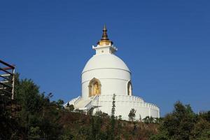 World Peace Pagoda in Nepal
