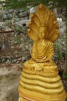 Thai Buddha with a naga over His head 2