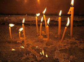 Candles in Cathedral, Varna - Bulgaria