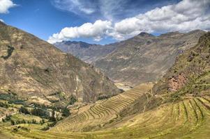 Inca ruins of Ollantaytambo