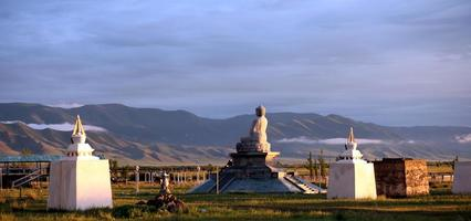 Mongolian Buddha statue